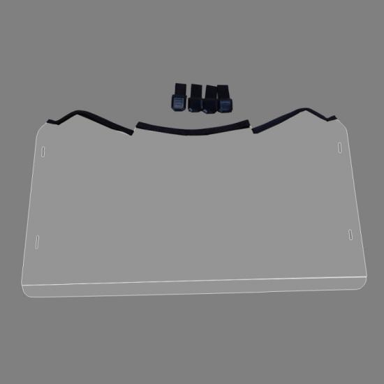 UTV Windscreen Windshield with Velcro Clamp Can Am Maverick full size