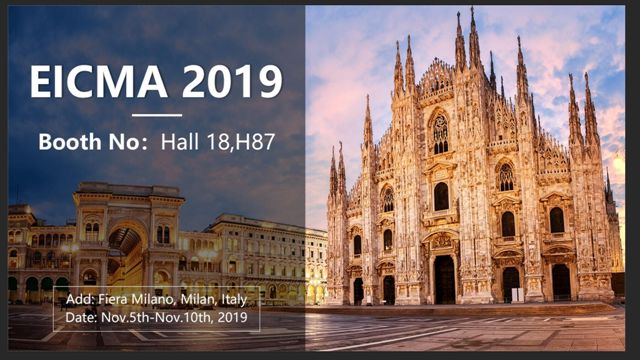 FRIBEST WILL ATTEND THE EICMA 2019